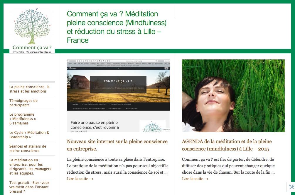 """Le site de la pleine conscience - Programme """"Mindfulness"""" 6 semaines"""